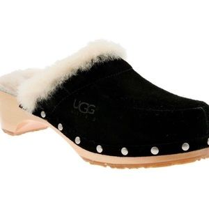 UGG Australia Kalie Leather Clogs Size 8